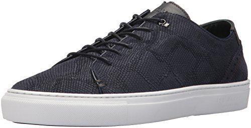 Ted Baker Men's Duuke Sneaker, Dark Blue, 8.5 M US