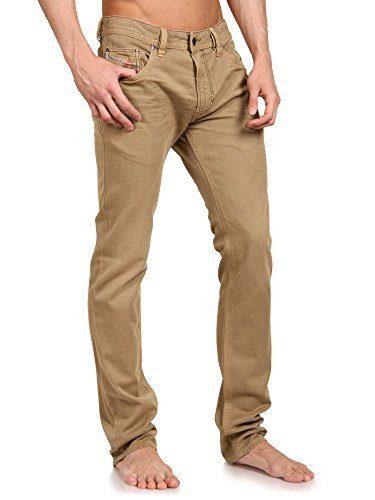 DIESEL THAVAR 0810w Skinny Jeans Yellow (29)