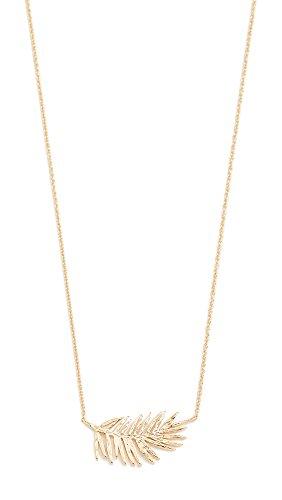 Gorjana Women's Palm Adjustable Necklace, Yellow Gold, One Size