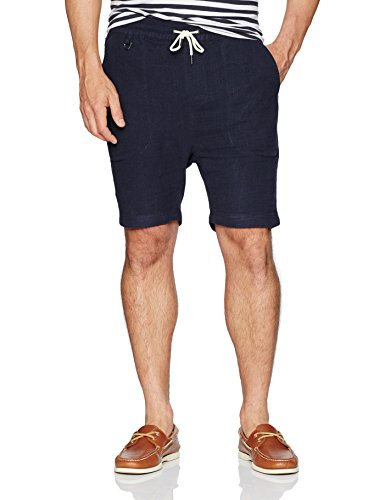 Publish Brand INC. Men's Ezraa Short, Navy, Medium