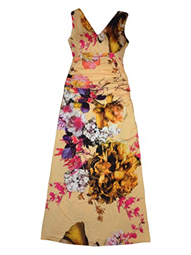 Roberto Cavalli Women's Long Dress Without Sleeves Small Multicolor