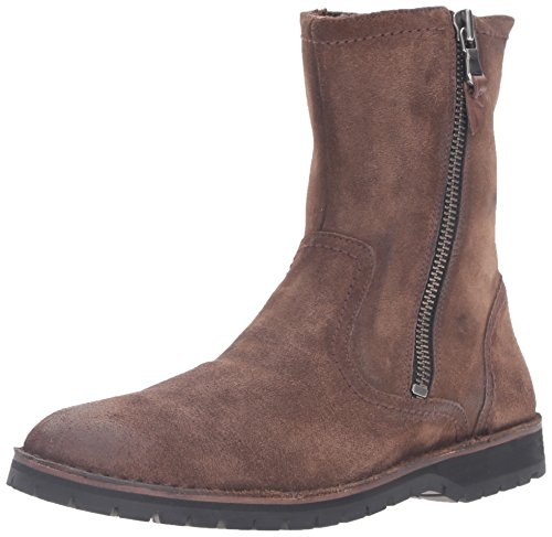 John Varvatos Men's Hipster Zip Winter Boot, Antique, 9 M US