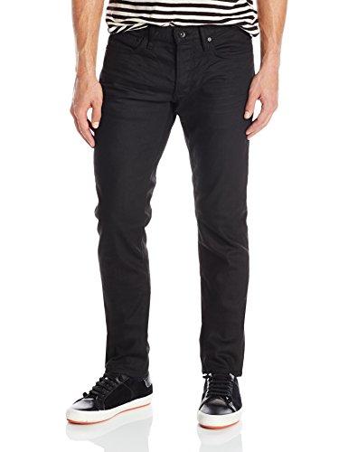 John Varvatos Star USA Men's Wight Jeans in Jet Black,33,