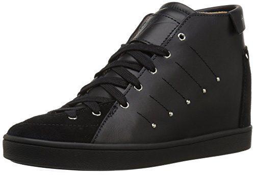 Giuseppe Zanotti Women's Fashion Sneaker, Nero, 7.5 M US