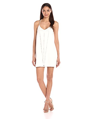 Dolce Vita Women's Bella Slip Dress, White, L
