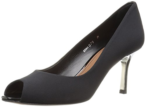Donald J Pliner Women's Erika-d Dress Pump, Black Crepe, 7.5 M US