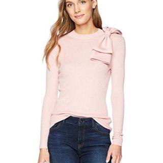 Ted Baker Women's Nehru Sweater, Dusky Pink, 2
