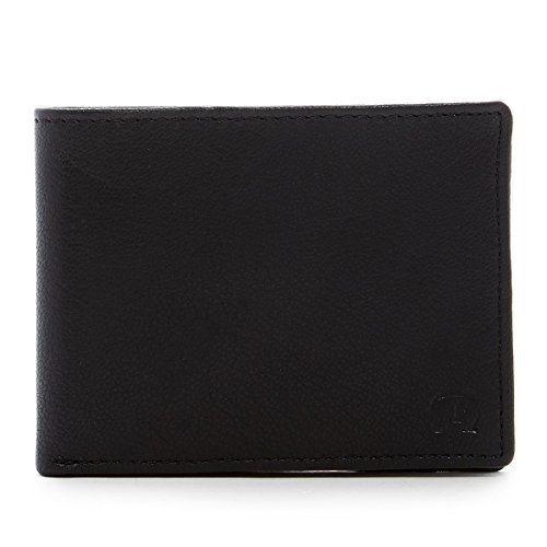 Robert Graham Men's Balanga Leather Slimfold Wallet (Black)