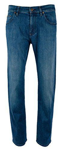 Hugo Boss Men's Maine Green Label Regular Fit Stretch Jeans-B-30Wx32L