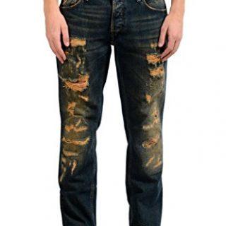 Just Cavalli Men's Ripped Slim Jeans US 30 IT 46;