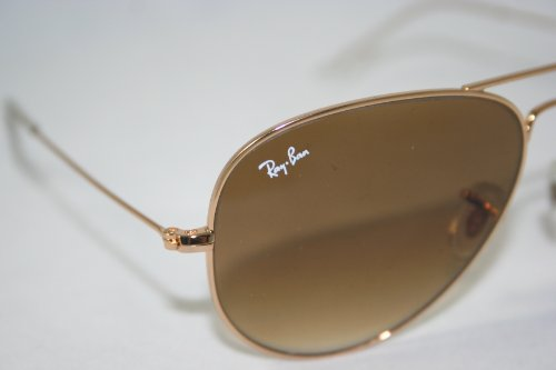 Ray-Ban Aviator Metal Sunglasses Arista Crystal Brown Gradient