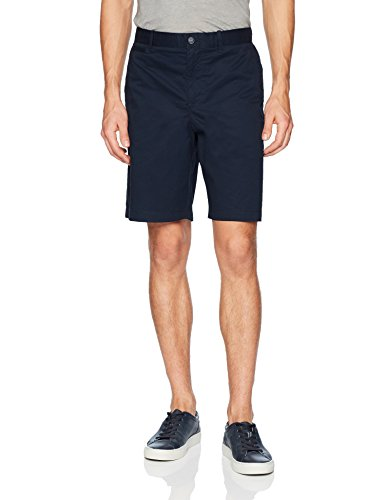 Original Penguin Men's P55 9.5 Straight Fit Basic Short with Stretch, Dark Sapphire, 34
