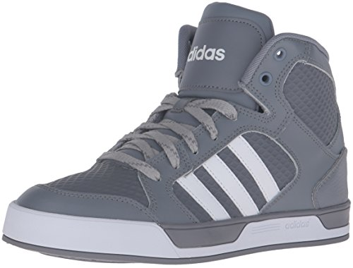 adidas Men's Raleigh Mid Fashion Sneaker, Grey/Running White/Grey/Running White/Clear Onix, 10.5 D-Medium
