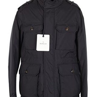 Moncler CL Blue Eusebe Field Jacket Coat Size 2/M/48/38 U.S.