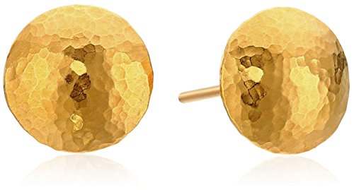 GURHAN Lentil 24k Gold Stud Earrings