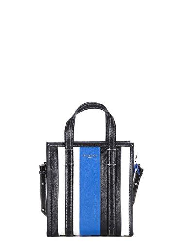 Balenciaga Women's Blue Leather Handbag