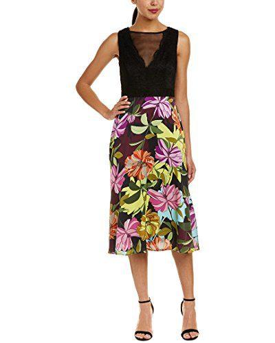 Trina Turk Women's Luminous Dress Multi 4