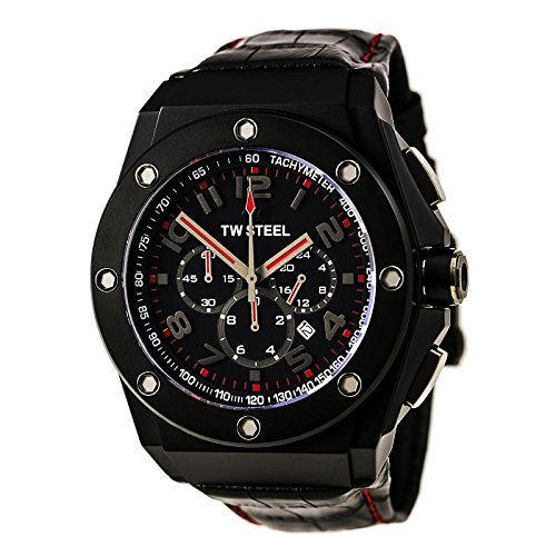 TW Steel CEO Tech Chronograph Black Dial Men's Watch