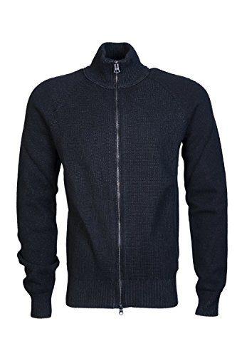 Hugo Boss Mens Cardigan/Hooded Knitwear ASMAREN Size M Black