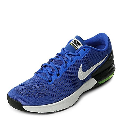 NIKE Men's Air Max Typha Training Shoe (9 D(M) US, Racer Blue/White-Volt-Black)