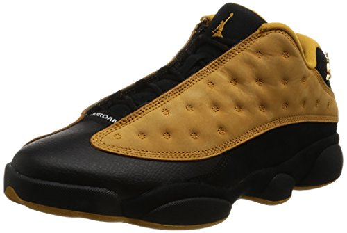 Nike Mens Air Jordan 13 Retro Low Chutney Black/Chutney Leather Size 10