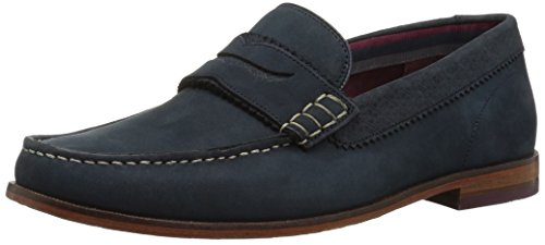 Ted Baker Men's Miicke 5 Loafer, Dark Blue, 8 D(M) US