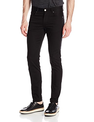 J.Lindeberg Men's Damien Stretch Denim Jeans, Black, 34 x 32