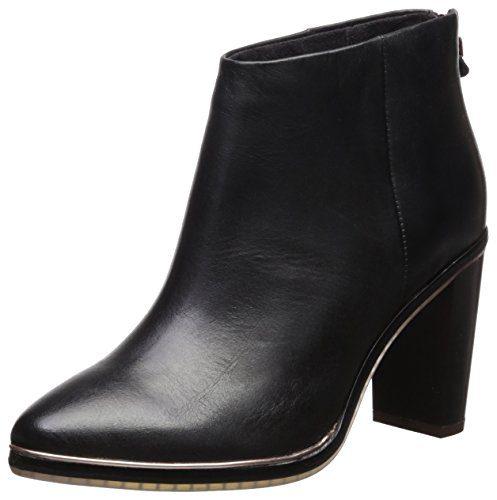 Ted Baker Women's Azaila Boot, Black/Black, 9 B(M) US