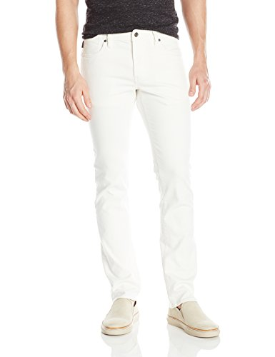 John Varvatos Men's Bowery Jean, White, 38