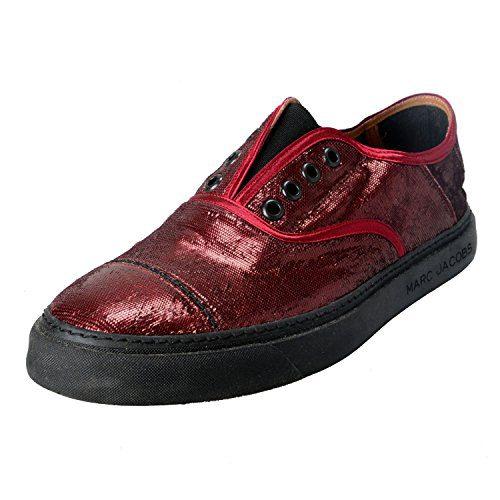Marc Jacobs Men's Vine Sparkle Leather Loafers Slip On Shoes US 10 IT 9 EU 43