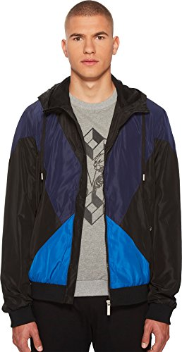 Versace Jeans Men's Hooded Jacket Black 52