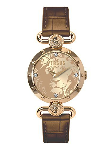Versus by Versace Women's SUNNYRIDGE Analog Display Quartz Brown Watch