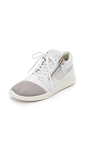 Giuseppe Zanotti Women's Sneakers, White, 35.5 IT