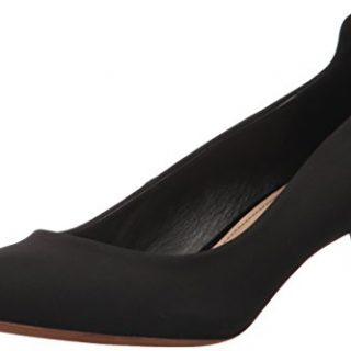 Donald J Pliner Women's Bari Pump, Black Crepe, 10 M US