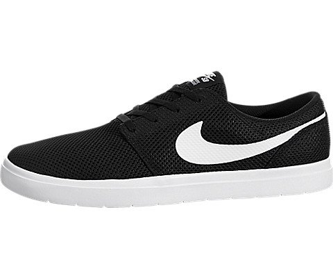 NIKE Mens SB Portmore II Ultralight Black/White Skate Shoe 13 Men US