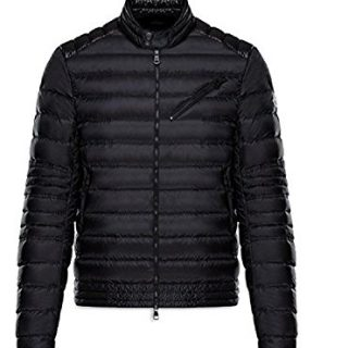 Moncler Men's Rayot Black Lightweight Jacket 6