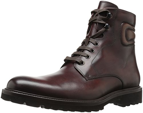 Magnanni Men's Wayde Engineer Boot, Mid Brown, 9.5 M US