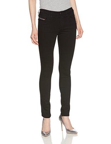 Diesel Women's Skinzee Super Skinny Jeans (Black, 26W X 30L)