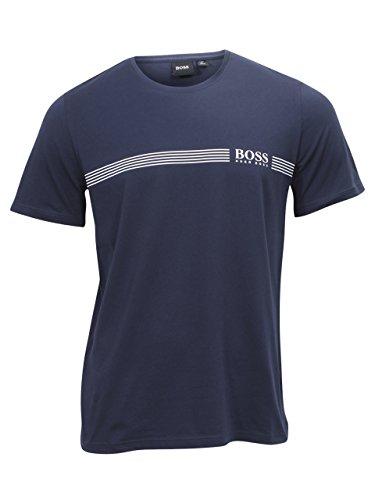Hugo Boss Men's Urban Dark Blue Short Sleeve Crew Neck T-Shirt Sz: L