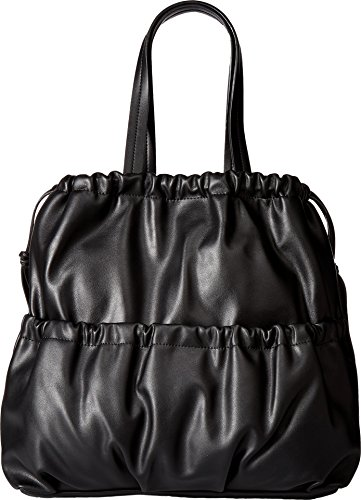 French Connection Women's Dane Drawstring Tote Black Handbag