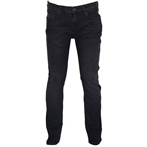 Hugo Boss Red Hugo Cotton Slim Fit Black Jeans W34 - L32 Black