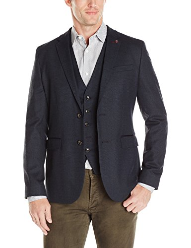 Ted Baker Men's Cabrini Sportcoat, Navy, 2/Small