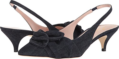 Kate Spade New York Women's Ophelia Pump, Indigo Denim, 8 M US
