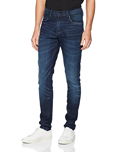 PRPS Goods & Co. Men's Frontal Jeans, Dark Blue, 34