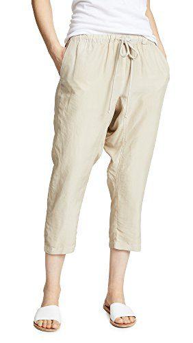 Enza Costa Women's Jogger Pants, Almond Milk, 2