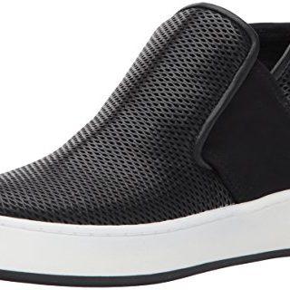 Donald J Pliner Women's Carole Sneaker, Black Perforated, 5.5 M US