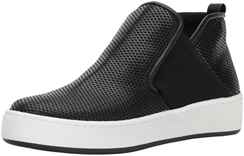 Donald J Pliner Women's Carole Sneaker, Black Perforated, 5.5 M US