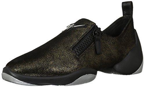 Giuseppe Zanotti Women's Sneaker, Nero, 7.5 B US