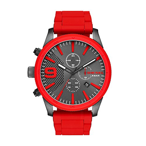 Diesel Men's RASP Chrono Red Watch