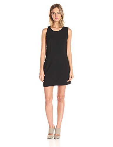 Dolce Vita Women's Sleeveless Split Back Amy Dress, Black, Small